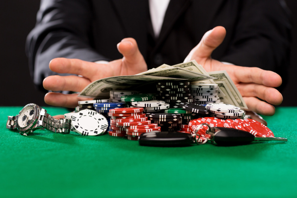 Is it gambling to put money in a pot and then draw lots to determine who would win the pot?